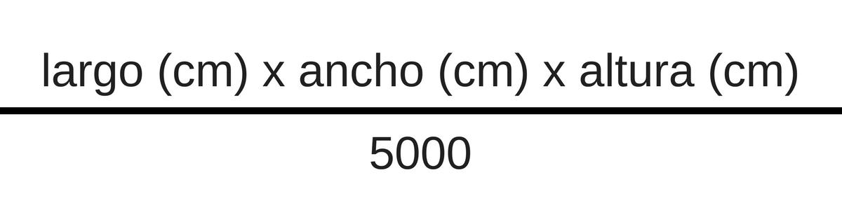Calcular peso volumétrico - Envíos a Perú | ECHO Parts Online